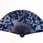 扇子(紺塗り)(3780円)(税込)